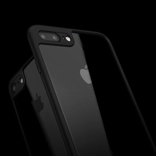 937c8551249 Funda Transparente iPhone 8 & 8 Plus Ultra Slim Hybrid Case