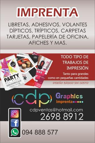 2830698c1 Imprenta Carteleria Estampados Y Más. Al Mejor Precio.