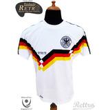 Top 1! Camiseta Rettro Alemania 90 Campeón Del Mundo! Stock!