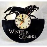 Game Of Thrones, Juego De Tronos, Reloj De Pared