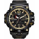 Reloj Smael Sumergible Militar Cronometro Luz