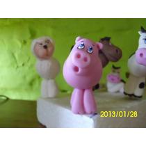 Animales De La Ganja En Porcelana Fría Para Decorar Tu Torta