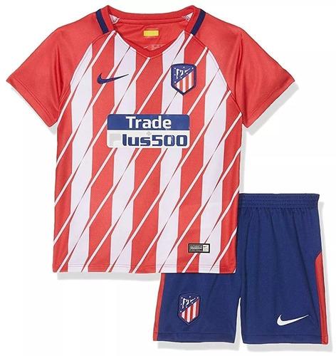 687878bb98566 Conjunto Atletico Madrid Niño Por Encargue