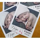 Imanes Tipo Foto Polaroid Souvenir Casamiento Bautismo 9x7cm