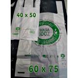 Compostable Y Biodegradable Bolsa Camiseta Aprobada - 60x75