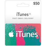 Promo-tarjeta Digital Itunes 50 Usd (cuentas Eeuu)-mercadouy