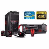 Pc Intel I7 7700 7ta Gen 8gb 1tb Xtech Hdmi 4k - Techstore