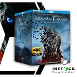 Serie Game Of Thrones Completa 4k 2160p Ultrahd Digital