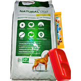 Natural Dog Perro 22kg + C/doble Y Dentalstix, Envío S/cargo