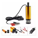 Bomba 12v Volt 38mm Diámetro Combustible , Agua