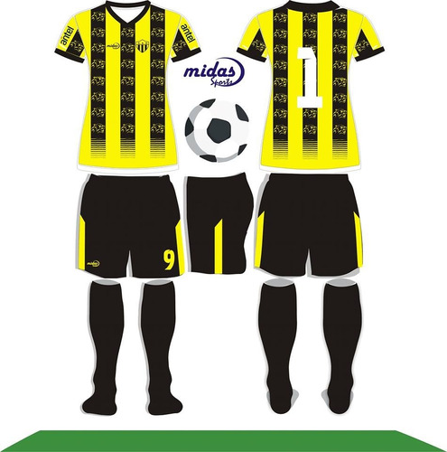 Equipos Futbol Completos Camiseta Short Medias Personalizado 454e20325f2bd