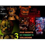 Five Nights At Freddy´s Coleccion 1+2+3+4+sister-pc Correo