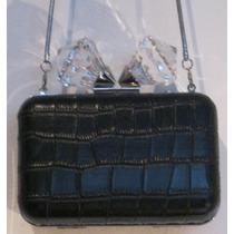 selección premium dd64e ab021 Cartera De Fiesta Rigida Negra Zara Modelo Clonch en venta ...