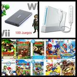 Disco Para Nintendo Wii Con 100 Juegos De Regalo
