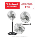Ventilador 3en1 Cool Breeze 3 Posiciones Turbo Mesa Pie Dimm