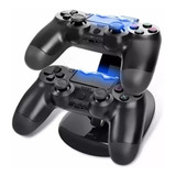 Cargador Ps4 Joystick Control Mando Playstation 4 Base Doble
