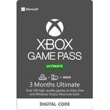 Xbox Game Pass Ultimate - 3 Meses - Codigo - Cualquier Pais