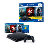 Play Station Ps4 Slim 1tb + 3 Juegos + 3 Meses Psplus Yanett