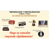 Radios Antiguas Y Tocadiscos
