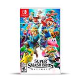 Super Smash Bros. Ultimate (nuevo) Switch Físico, Macrotec
