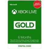Xbox Live Gold 6 Meses / Código Membresía Suscripción