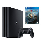 Playstation 4 Pro 1tb + God Of War 4, Macrotec