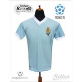Mexico 70 Camiseta Rettro 1970 4to Puesto Uruguay Natural!