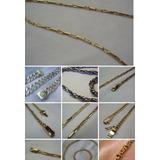 Cadenas Artesanales En Plata Y Oro Consulte Precio X Encargu
