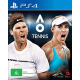 Ao International Tennis Juego Ps4 Original