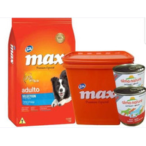 Max Selection 20kg + Contenedor + 2pate + 6 Pagos