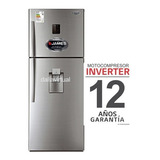Heladera James Inverter J501 Inox. Dispensador Gtía. 12 Años