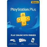 Playstation Plus Ps4 - Ps3 12 Meses - 1 Año - 365 Dias