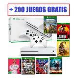 Xbox One S 4k 1 Tera Nuevas Con Juegos De Regalo