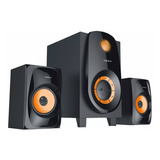 Parlantes Home Xion 2.1 Ht226 Bluetooth Radio 2800w Dimm