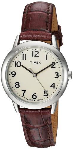 5df10dbb09e6 Reloj Timex Tw2r30300 Easy Reader Croco Con Correa De Cue