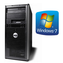 Torre Pc Computadora Core 2 Duo 4gb Dvd Cd Windows Importada
