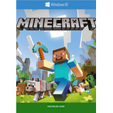Minecraft Windows 10 Edition Completo Pc / Original Código