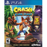 Crash Bandicoot Nsane Trilogy Ps4 Original Garantía+ Español