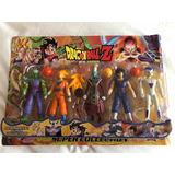 Set Dragon Ball Z Colección Muñecos Personajes Articulados
