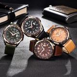 Reloj Xinew Hombre Malla De Cuero