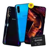 Samsung Galaxy A50 6.4' 64 /4gb Ram Triple Cám 25/5/8mp  P M