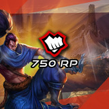 750 Riot Points Las League Of Legends Lol