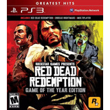 Red Dead Redemption + Undead Nightmare Juego Ps3 Original
