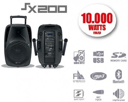 Parlante Potenciado Bluetooth 10 Mil Watts Zonalaptop