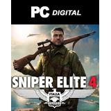 Sniper Elite 4 Pc Español / Full Edición Completa Digital