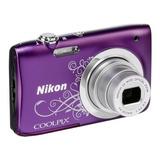 Camara Digital Nikon A100 20,1 Mpx + Estuche, 1 Año Garantía