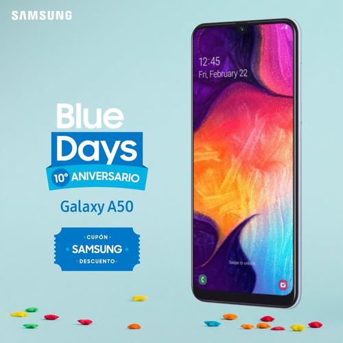 Samsung A50 2019 64/4 Gb Garantía Oficial +regalo, Macrotec