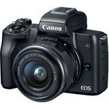Camara Canon Eos M50 Mirrorless Lente 15-45mm 3,0 Pulg. Nnet