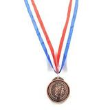 Medalla 6.5 Laureles Y Atletas Dorado