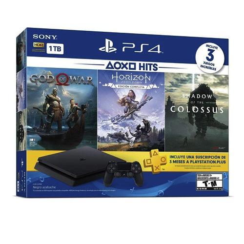 Consola Sony Playstation 4 1tb 3 Juegos 1control Psplus Nnet
